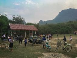 School in Phonengeun Village, Laos
